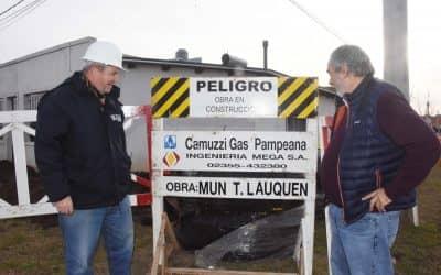 Tras una lucha histórica se realizó hoy (martes) el lanzamiento de la obra de gas para tres barrios de Trenque Lauquen