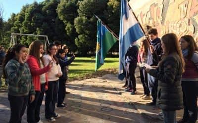 Alumnos de Girodías realizaron la promesa de compromiso ambiental