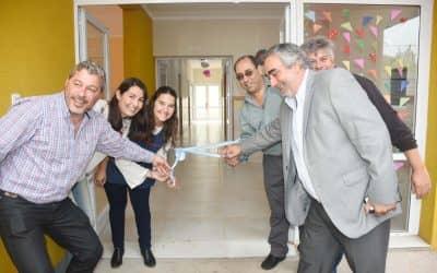 Se inauguró hoy (martes) el nuevo edificio del jardín Maternal Municipal de Berutti