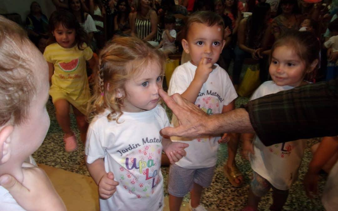El Jardín Maternal de 30 de Agosto realizó el acto de fin de curso