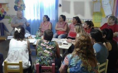 Plan de evacuación y manejo de matafuegos en el jardín maternal de 30 de Agosto