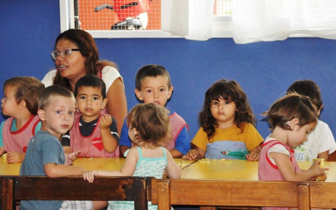 Con 640 alumnos comienza el ciclo lectivo en los Jardines Maternales Municipales