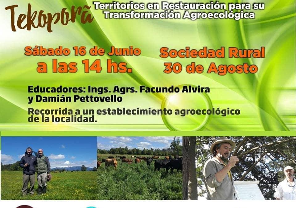 Jornada de Agroecología en 30 de Agosto