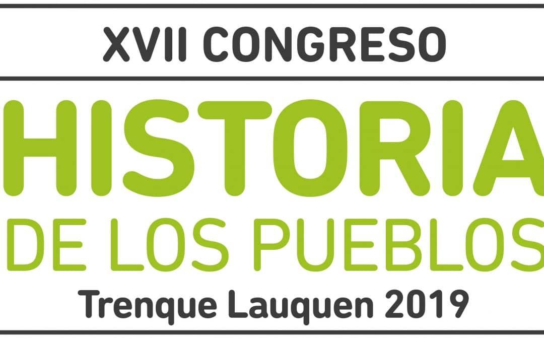 """TRENQUE LAUQUEN RECIBIRÁ LA SEMANA PRÓXIMA AL """"XVII CONGRESO DE HISTORIA DE LOS PUEBLOS"""""""