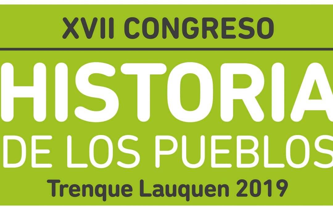TRENQUE LAUQUEN SERA SEDE DEL XVII CONGRESO DE HISTORIA DE LOS PUEBLOS DE LA PROVINCIA DE BUENOS AIRES