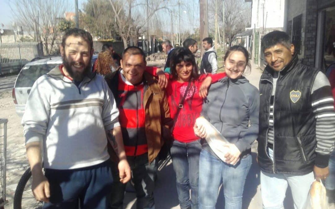 Scheffer y operarios del Prolim visitaron la cooperativa La Juanita