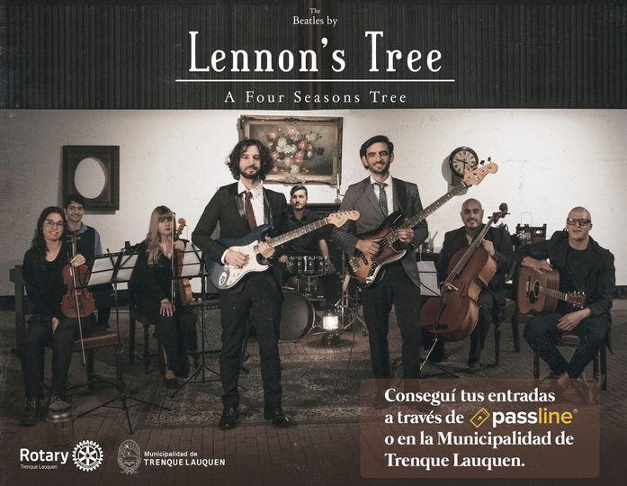 LENNON'S TREE, ROTARY Y EL MUNICIPIO UNIDOS ESTE DOMINGO EN UN CONCIERTO SOLIDARIO POR STREAMING A BENEFICIO ESCUELAS RURALES