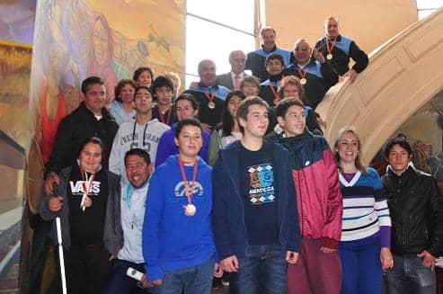 Reconocimiento a medallistas de los Juegos BA 2015