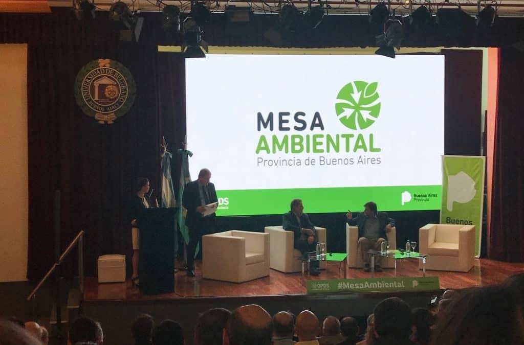 MOTREL Y SIROTIUK PARTICIPAN DEL SEGUNDO ENCUENTRO DE LA MESA AMBIENTAL DEL OPDS