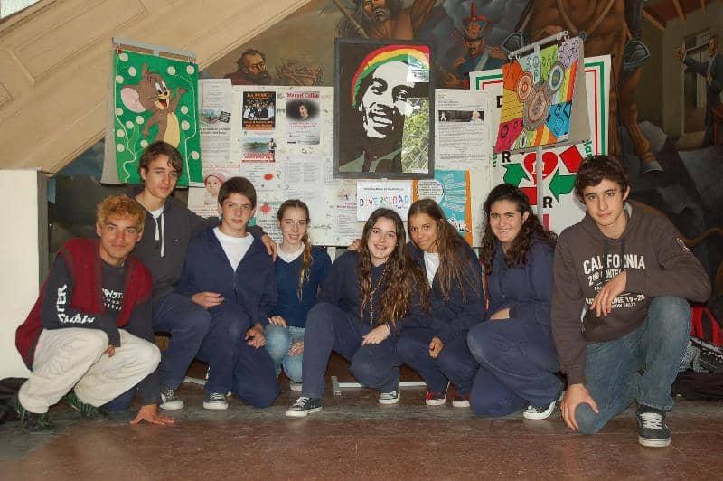 Exposición de trabajos de alumnos