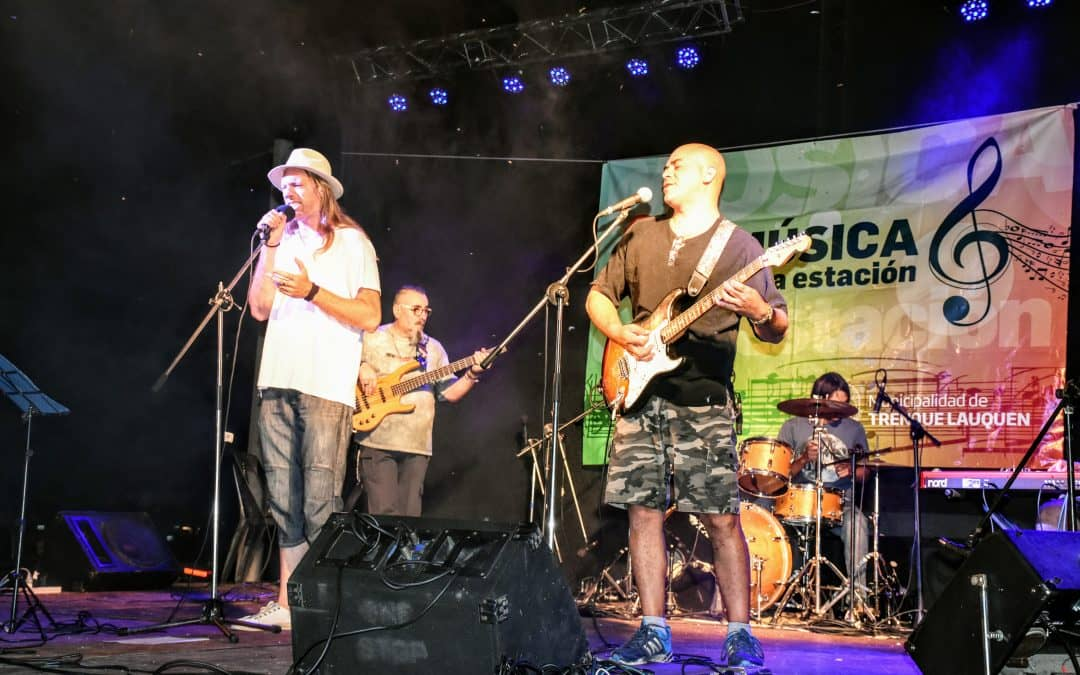 Música en la Estación se realizó en Berutti con excelente marco de público