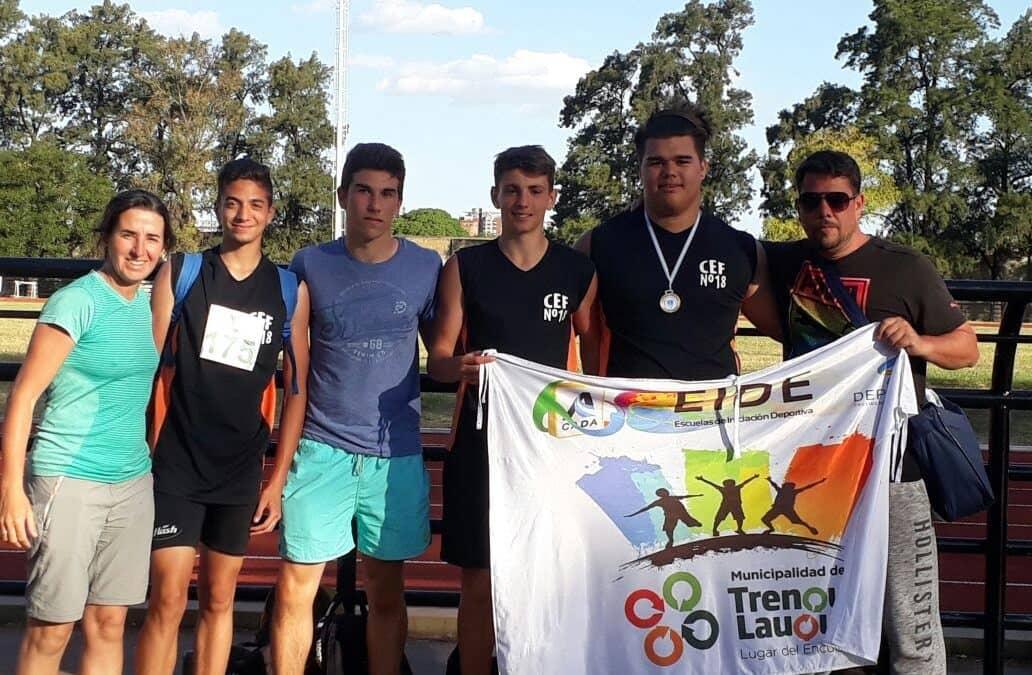 Deportistas locales participaron del Torneo Nacional de Atletismo
