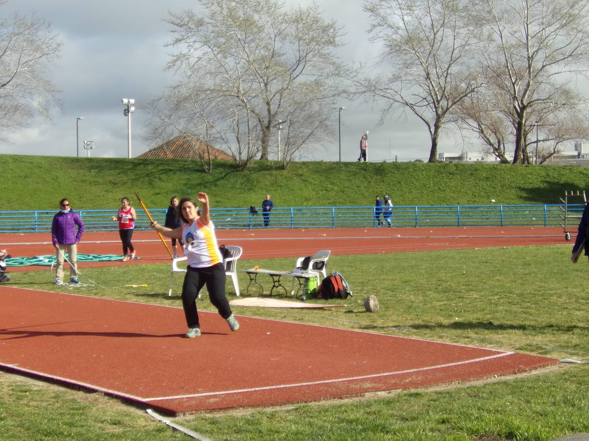 Nazarena Márquez - Jabalina cadetes - 6to lugar