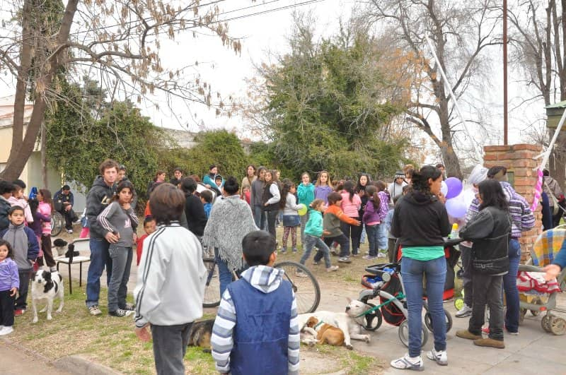 Actividades recreativas en el Centro Ameghino