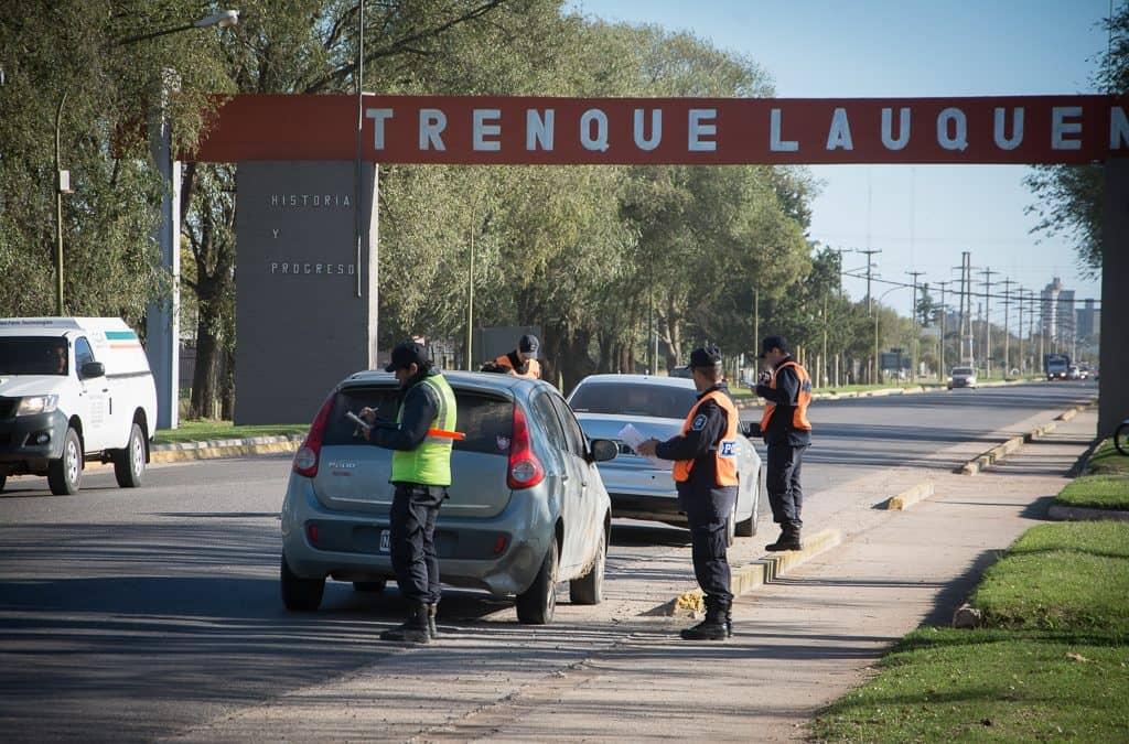 Operativo preventivo de tránsito en los accesos a la ciudad