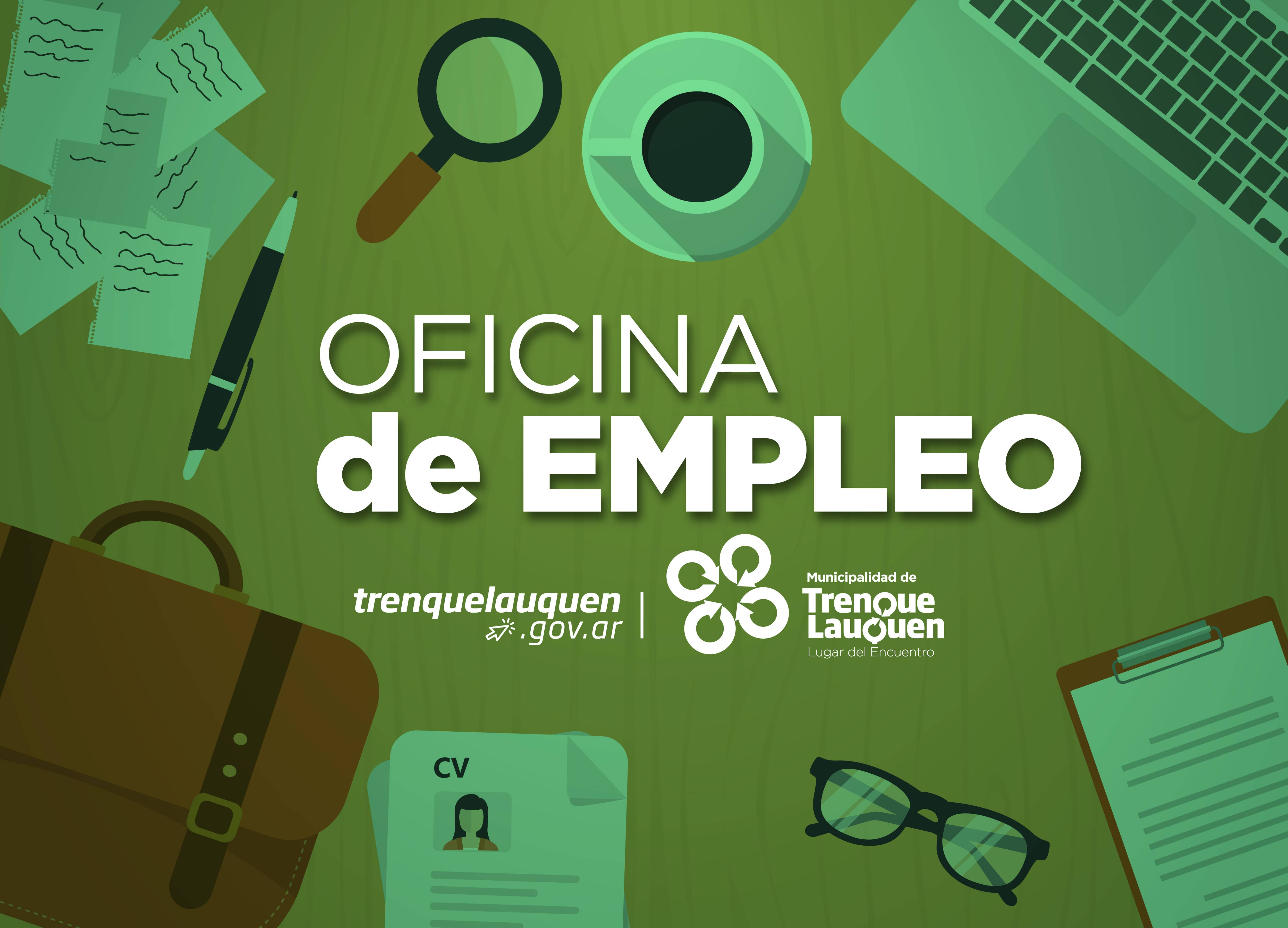 Oficina de empleo 4 municipalidad de trenque lauquen for Oficina de empleo estepa