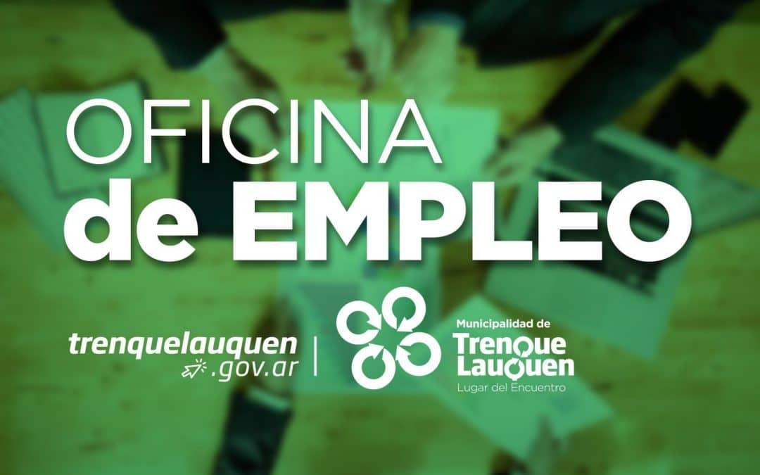 BÚSQUEDAS LABORALES VIGENTES EN LA OFICINA DE EMPLEO