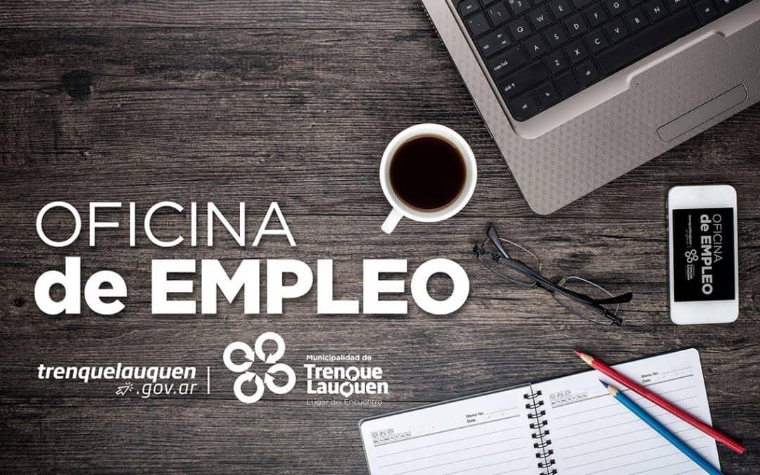 OFERTAS LABORALES VIGENTES EN LA OFICINA DE EMPLEO