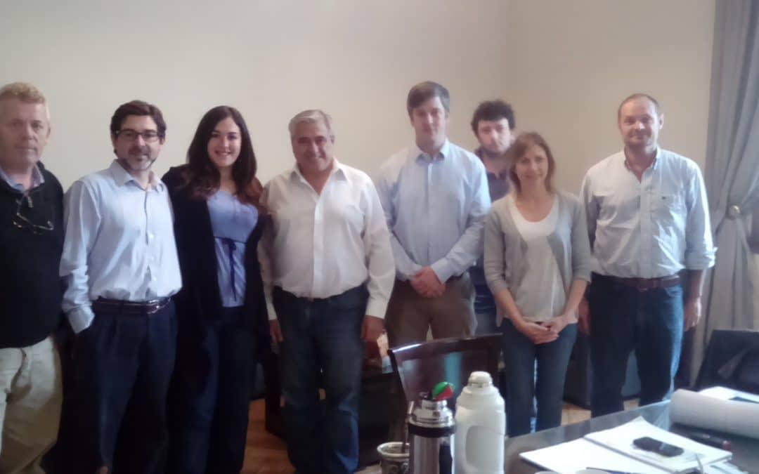 Ombroni participó de una reunión regional de secretarios de Producción