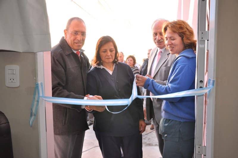Se inauguraron obras en Oncología del Hospital