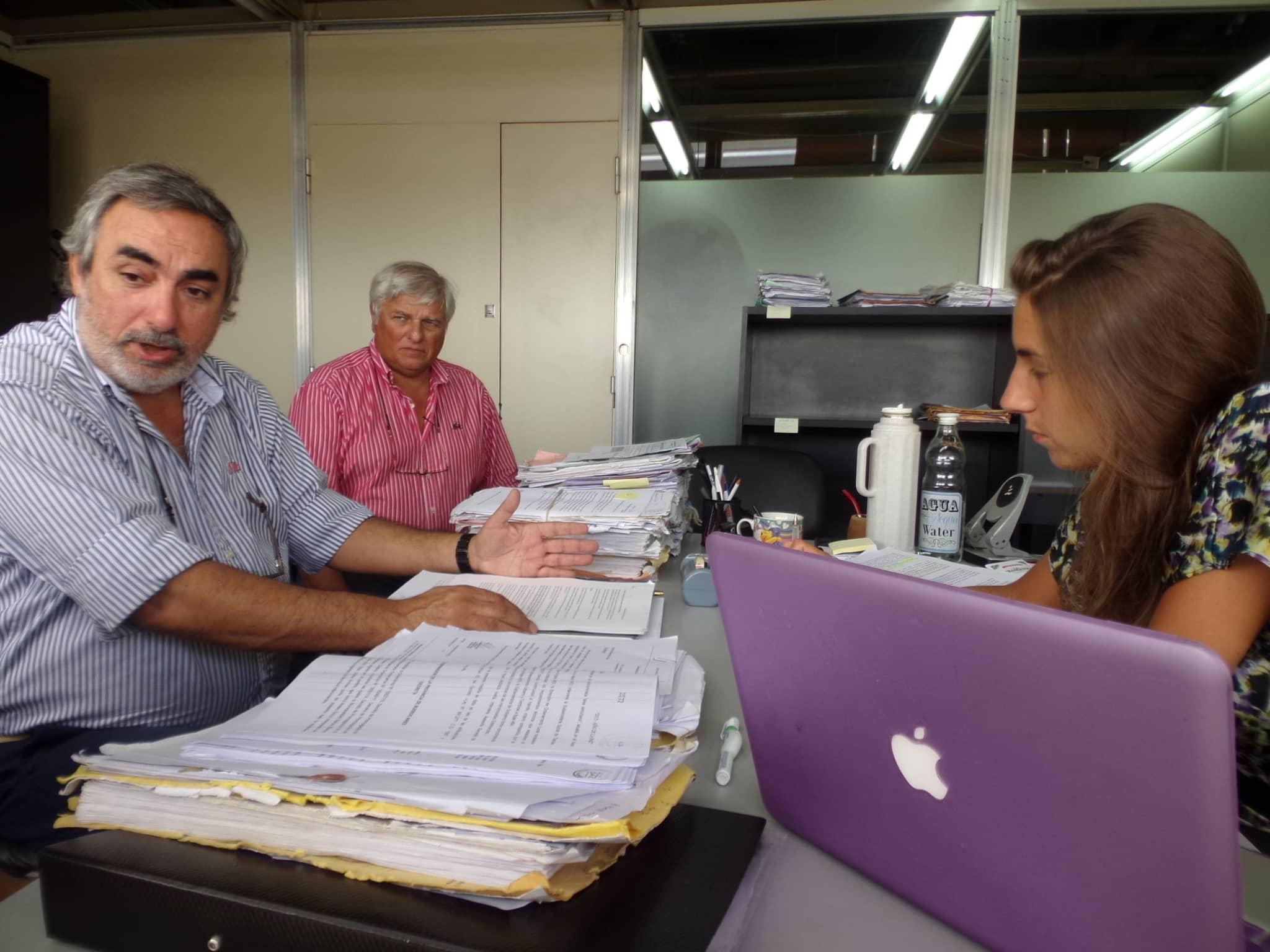 Gestiones del Intendente en La Plata