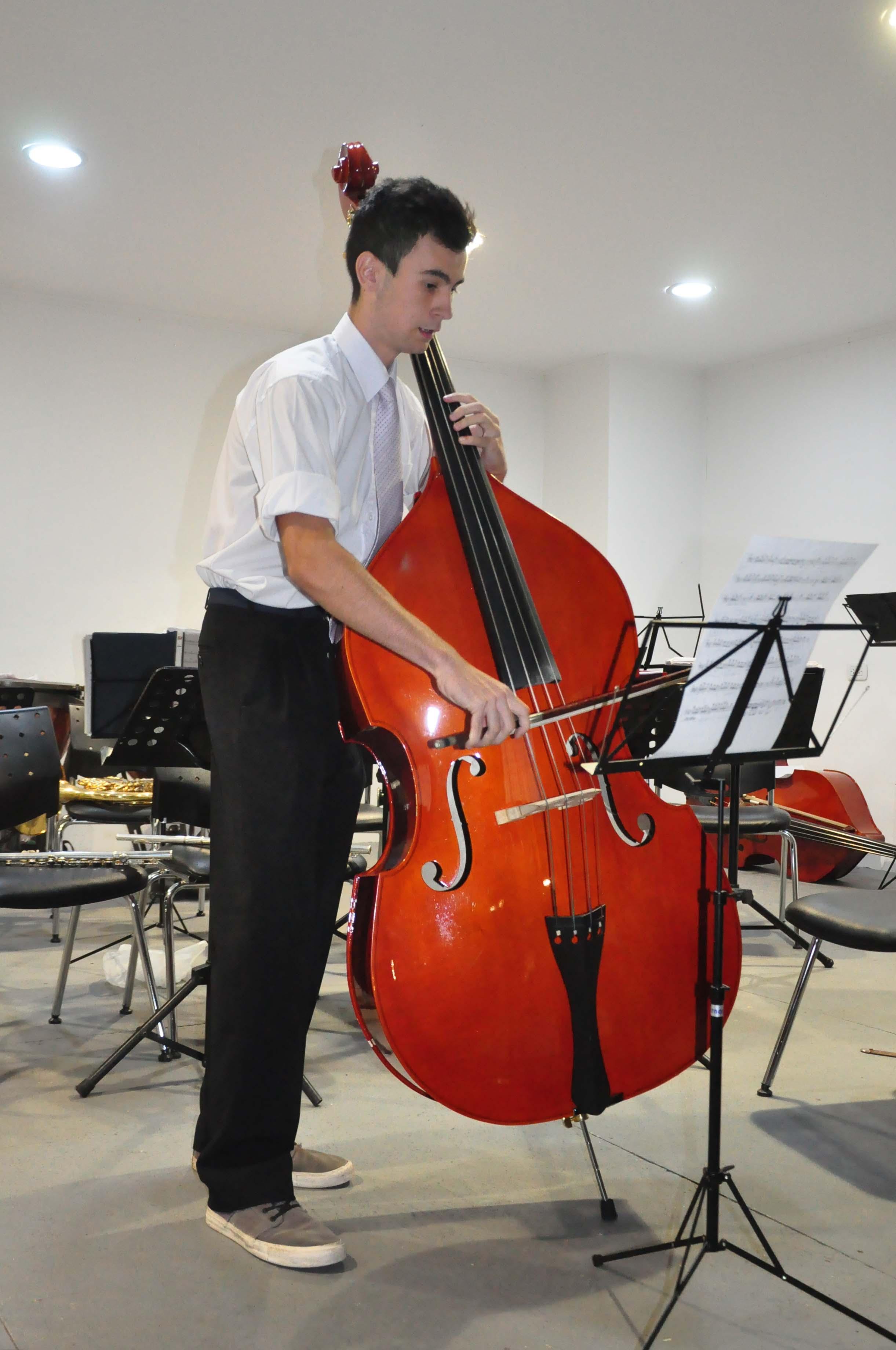 Orquesta en Escuela de Música - diciembre 2015
