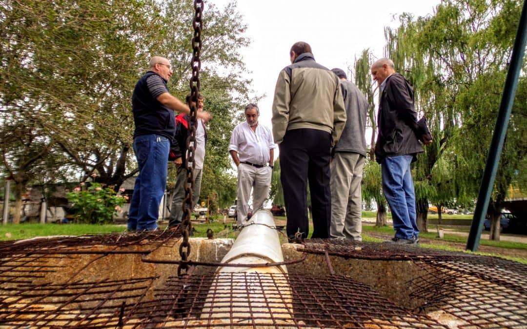 El Municipio gestiona fondos para optimizar la planta de líquidos cloacales