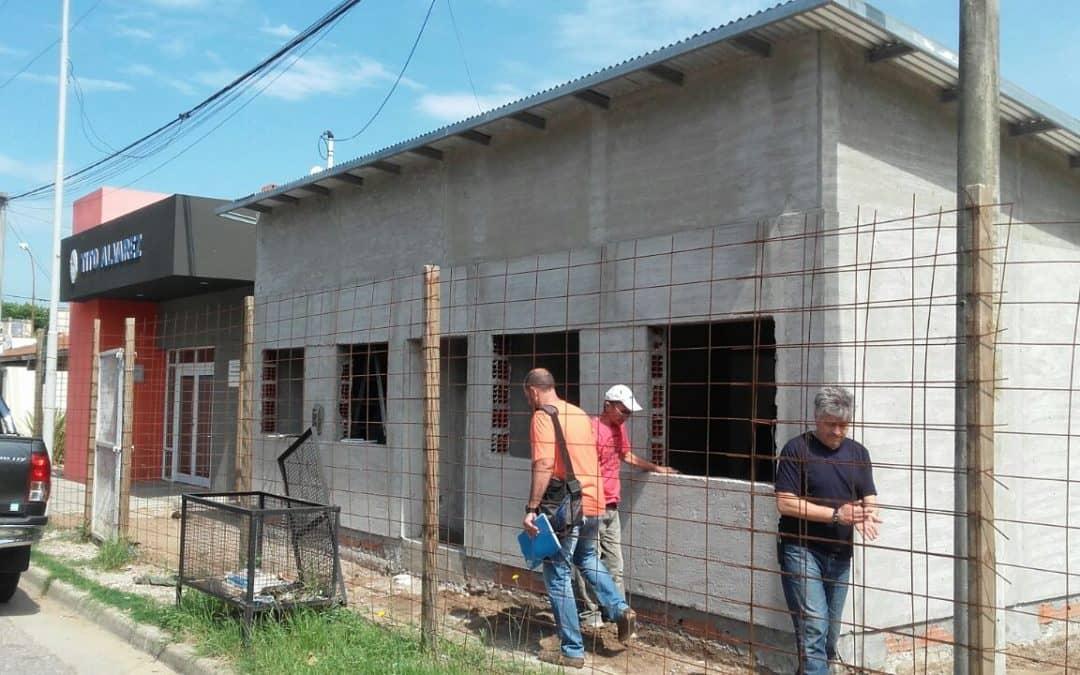 Avanza la construcción del proyecto productivo Abriendo puertas