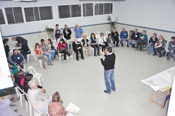 Tercera Asamblea del PP en el Centro Indio Trompa