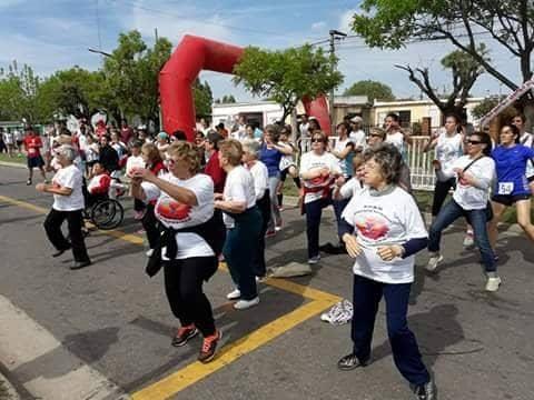 Asistentes del PRAM participaron de la Maratón de los Poceros