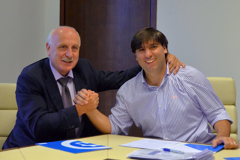 Feito firmó convenio con ANSES