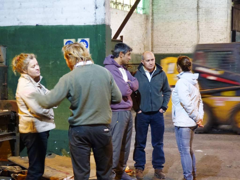 Funcionarios de Coronel Suárez visitaron el PROLIM
