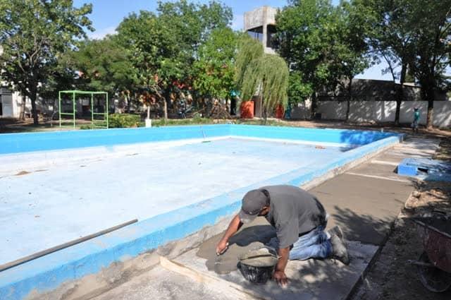 El Municipio reacondiciona la pileta de Casa del Niño