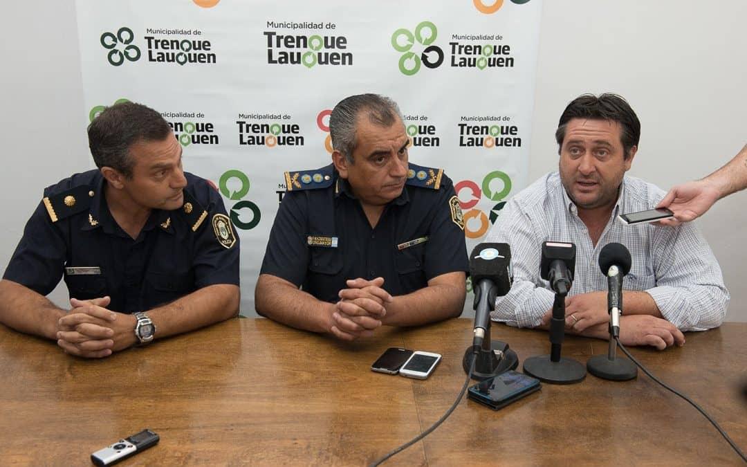 La Policía Departamental informó que se redujo el delito un 40% durante 2016