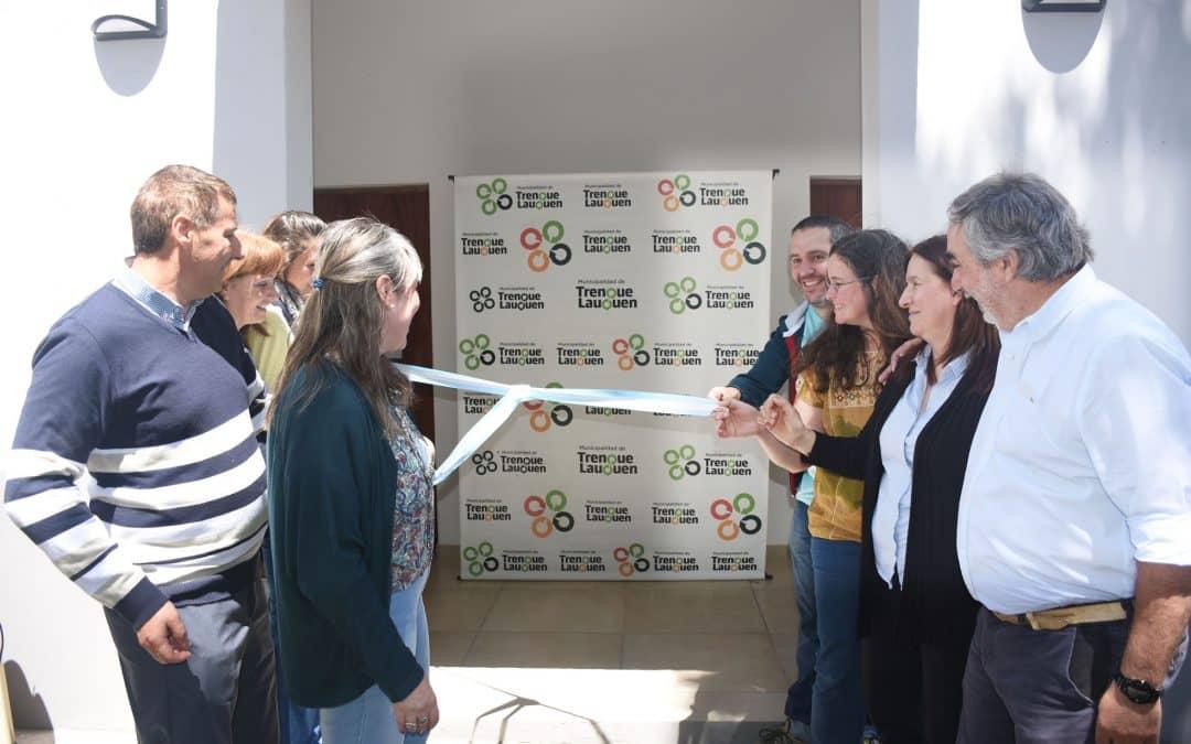 El Municipio inauguró las obras de la ampliación de la Escuela Secundaria de Arte