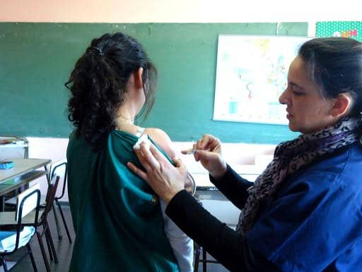 Salud Comunitaria en Escuela 41