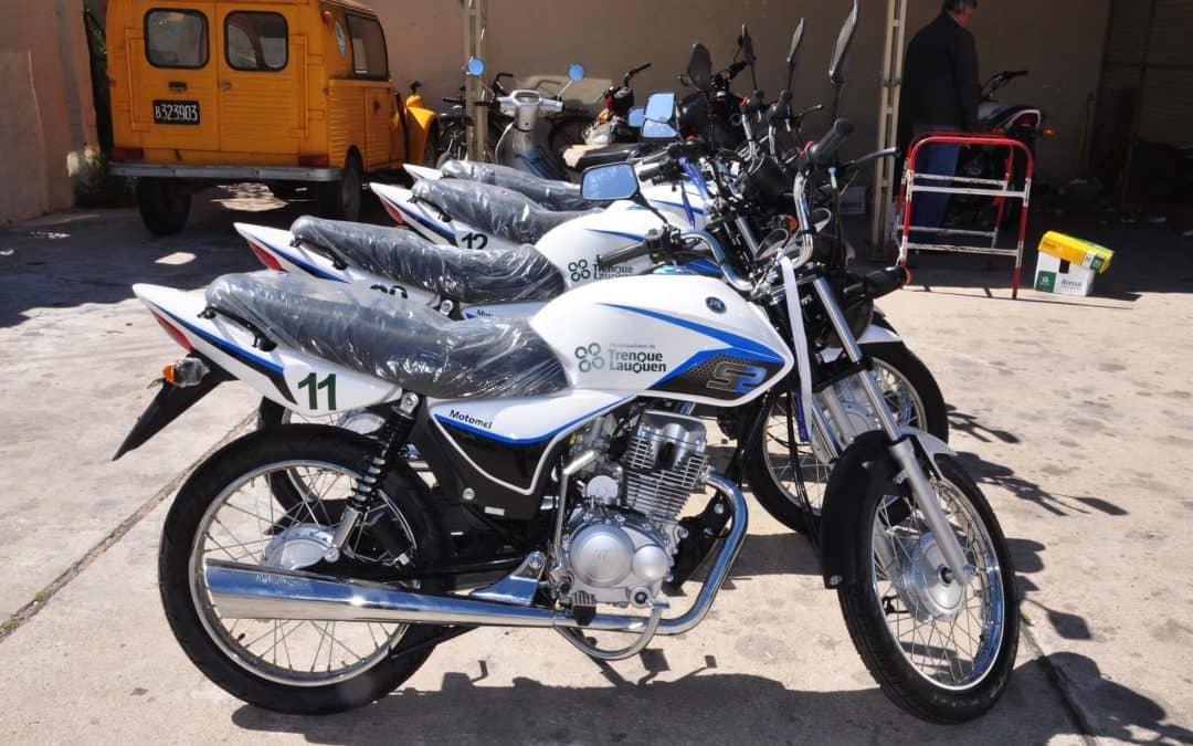 El Municipio adquirió 10 nuevas motos para Contralor