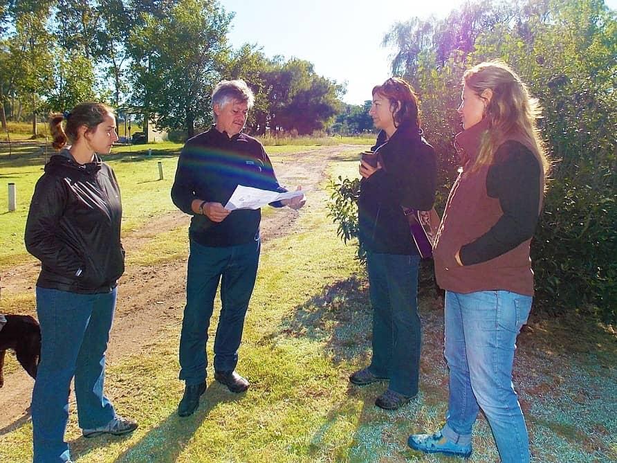 Recorren el predio donde estará el Polo Ambiental Integral