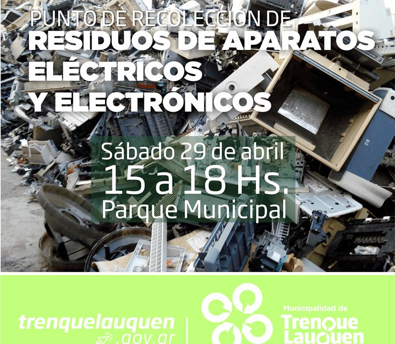 Jornada de recepción de residuos electrónicos