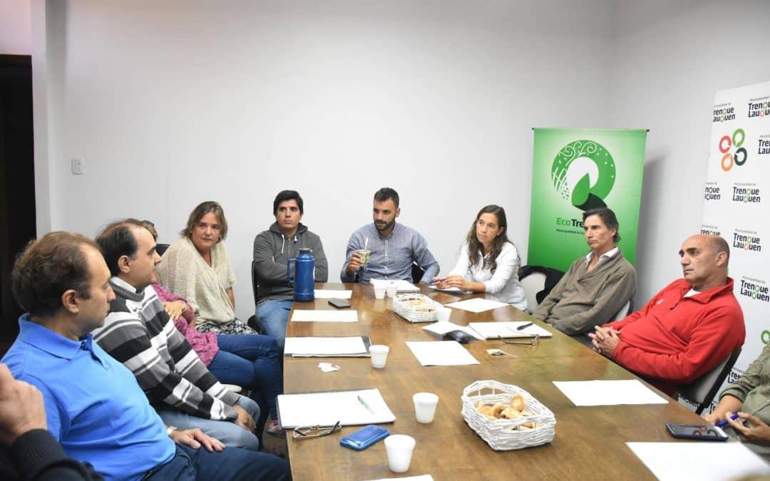El Municipio e instituciones locales se reunieron para trabajar sobre Emprendedorismo