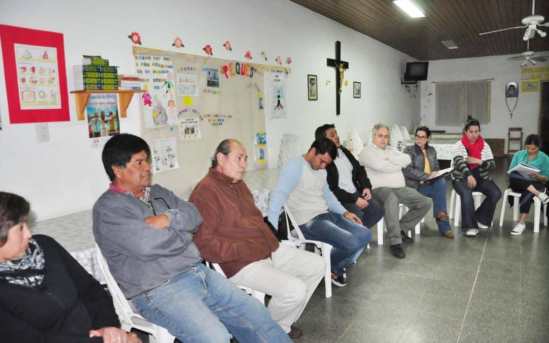 Serantes se reunió con vecinos del barrio Indio Trompa