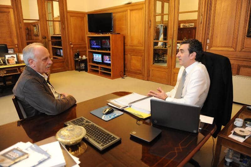 Feito se reunió con el Ministro Florencio Randazzo