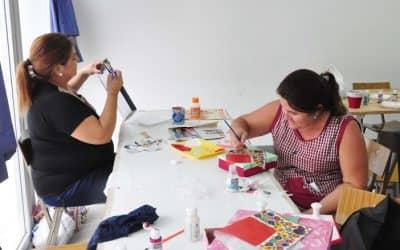 AMPLIA OFERTA DE TALLERES DE ARTE EN LAS ESCUELAS MUNICIPALES DEL DISTRITO