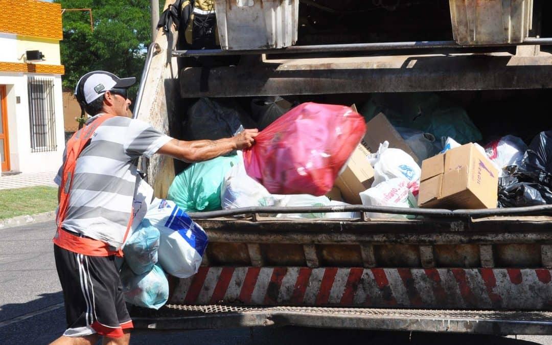 Mañana (jueves) habrá recolección domiciliaria de residuos