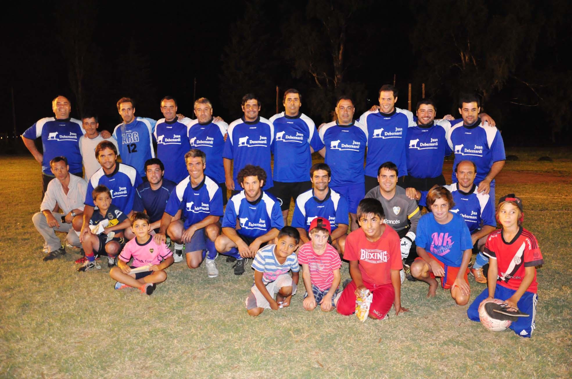 Debernardi y Electricidad Rossi, campeones en Fútbol Once