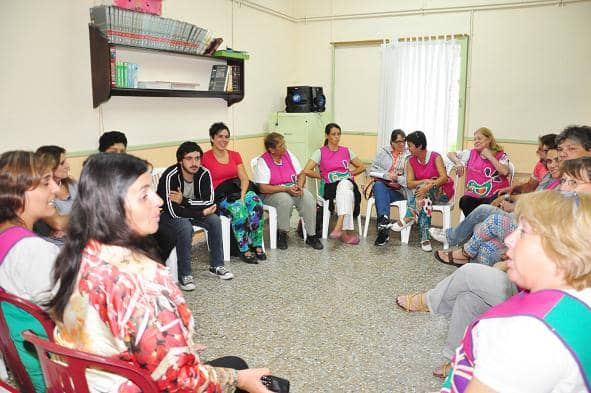 Piras se reunió con el equipo directivo de Casa del Niño