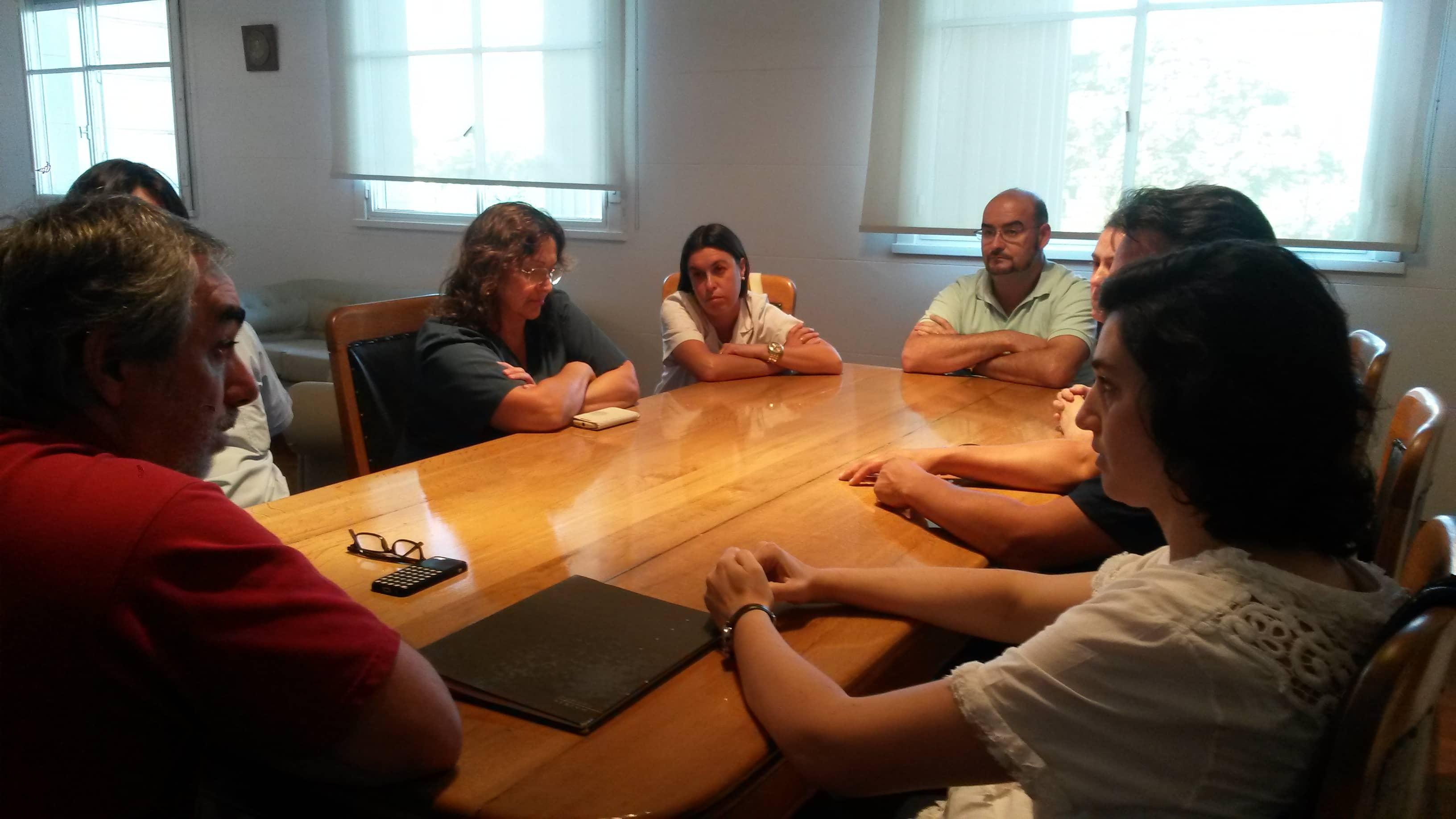 El Intendente se reunió con los médicos de los Centros de Referencia