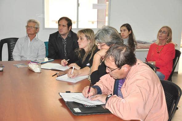 Reunión sobre Municipios Saludables