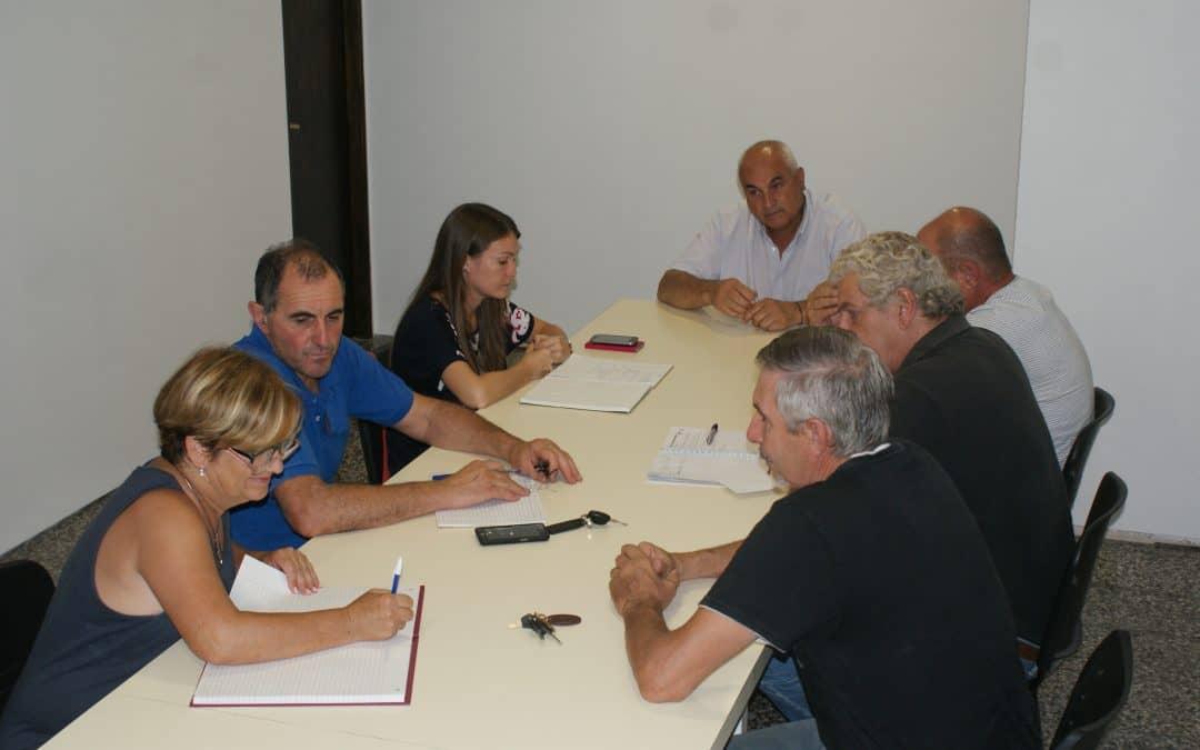 30 de Agosto: el consejo vecinal se reunió con Zapara y la titular de Medio Ambiente