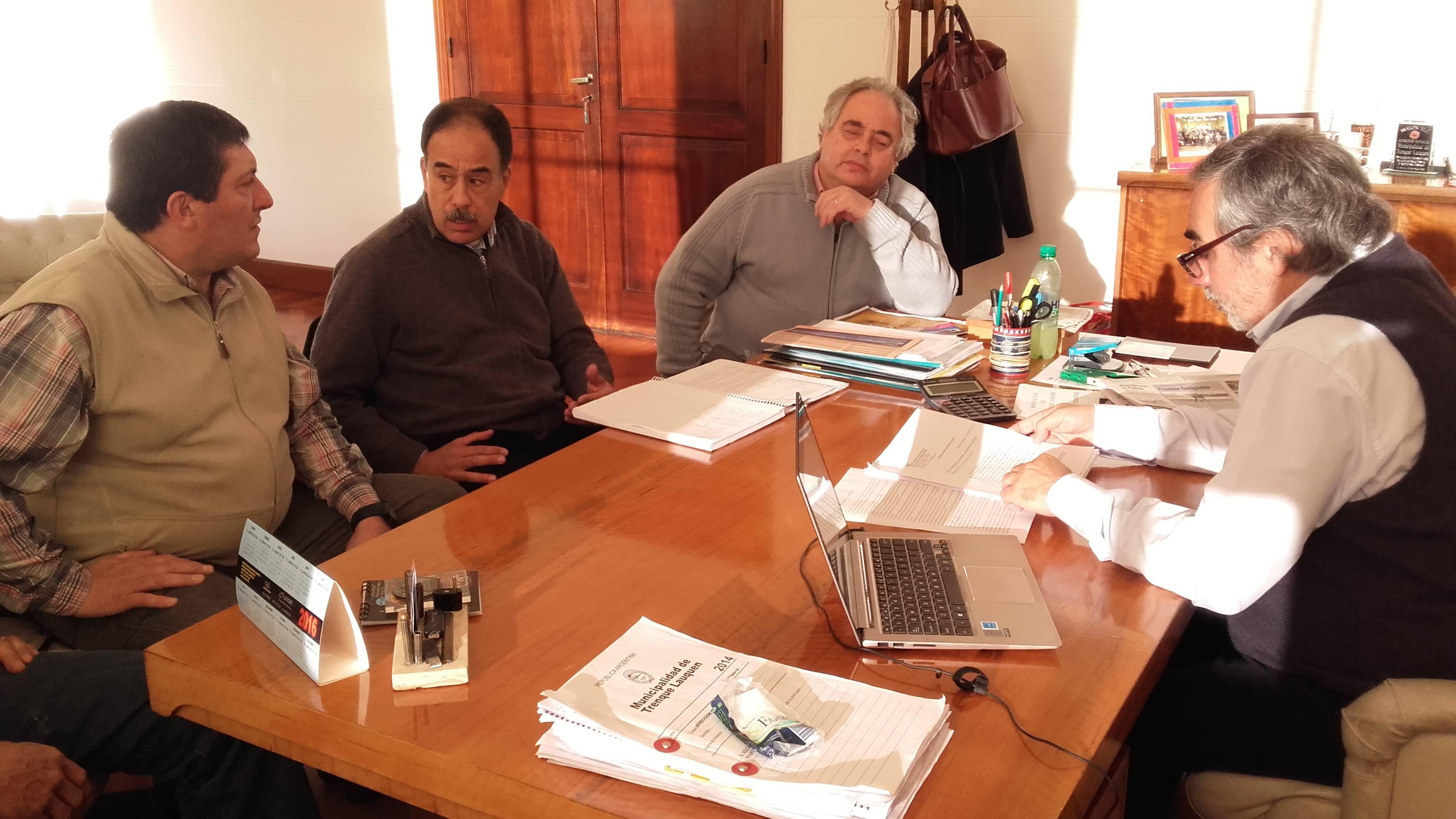 El Intendente se reunió con autoridades de la Cooperativa de Electricidad